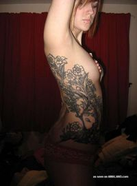 Photo set of sexy amateur inked and pierced hotties from Badass Girlfriends