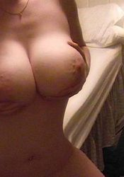 Photo gallery of sexy amateur GFs showing their big breasts from GF Melons