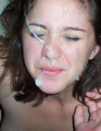 Picture collection of cum-drenched amateur babes from jizzonmygf