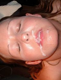 Picture collection of facials and jizz-swallowing sluts from jizzonmygf