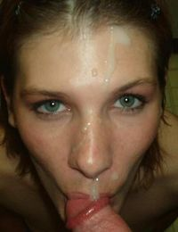 Collection of cum-squirted faces from jizzonmygf