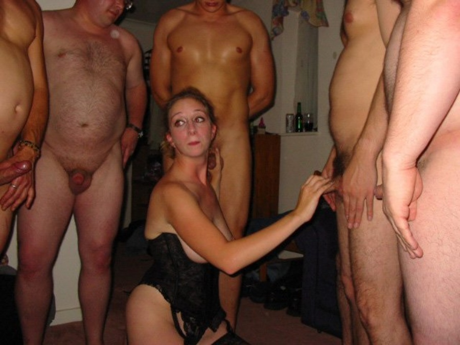 Multiple cocks sucking frau ist