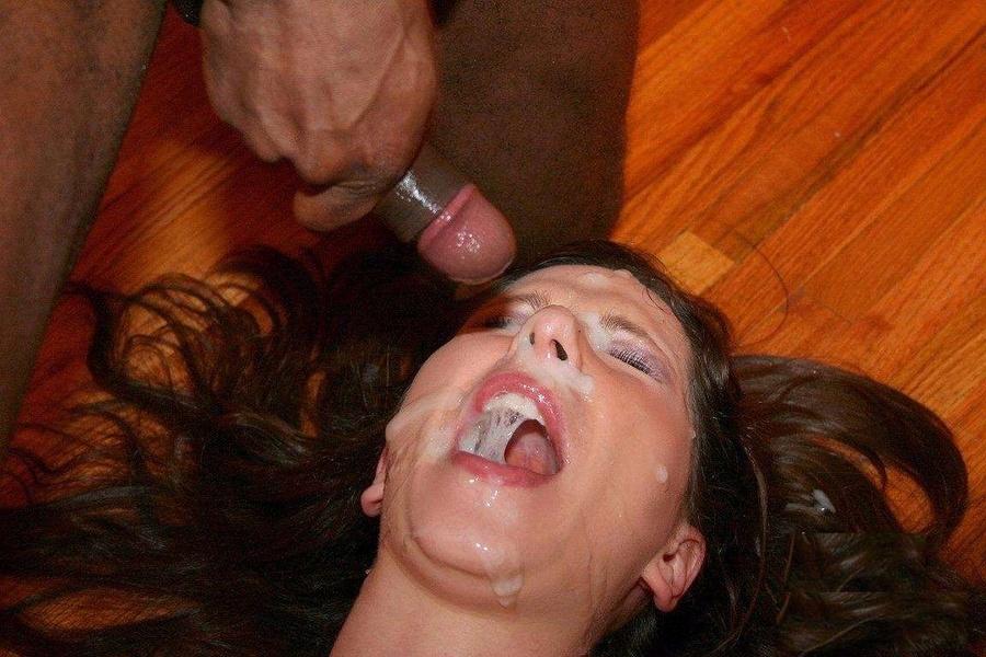 фото галереи сперма в лицо
