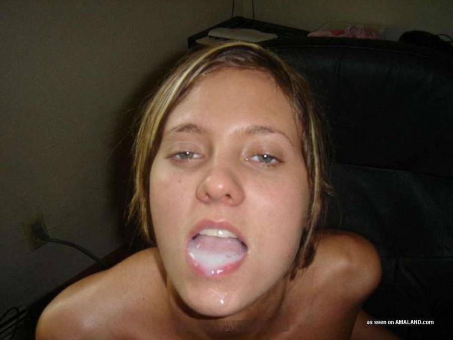 фото подборка на лице девушек сперма