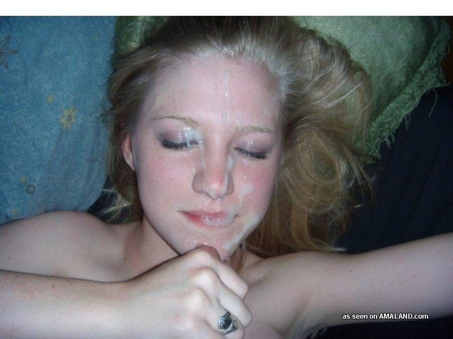 фото дев в сперме