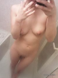 Kinky shy chick shows her tits and pussy while selfshooting from Sluts With Phones