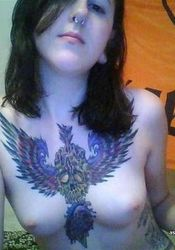 Steamy hot inked and pierced kinky amateur punk chick from The GF Network