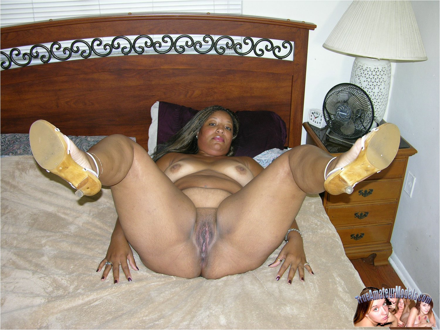 Amatuer black bbw getting fucked