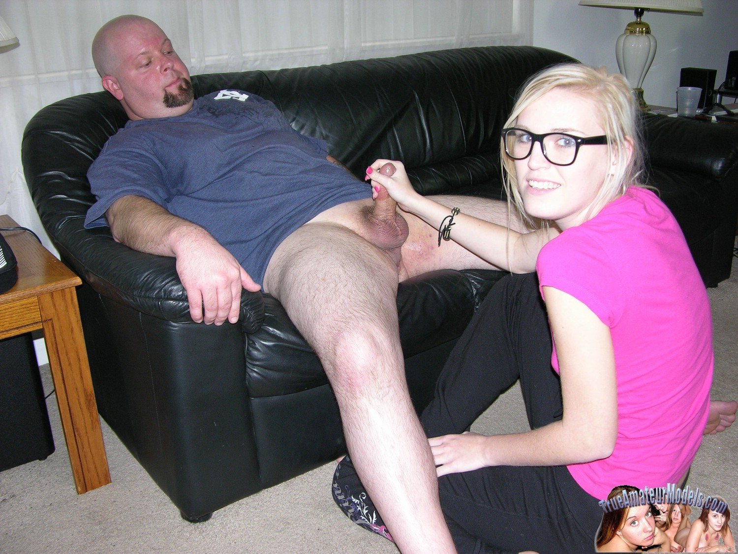 Sorry, that true amateur girl with nerd glasses blowjob pity